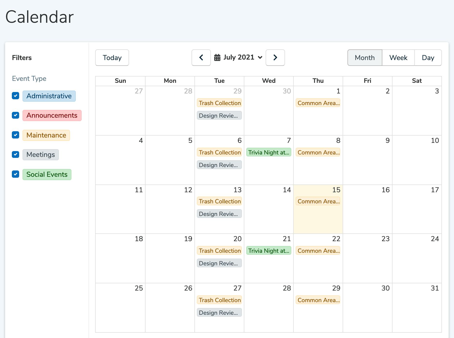 association-calendar