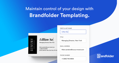 graphic image for Brandfolder Templating 4 Minute Demo resource