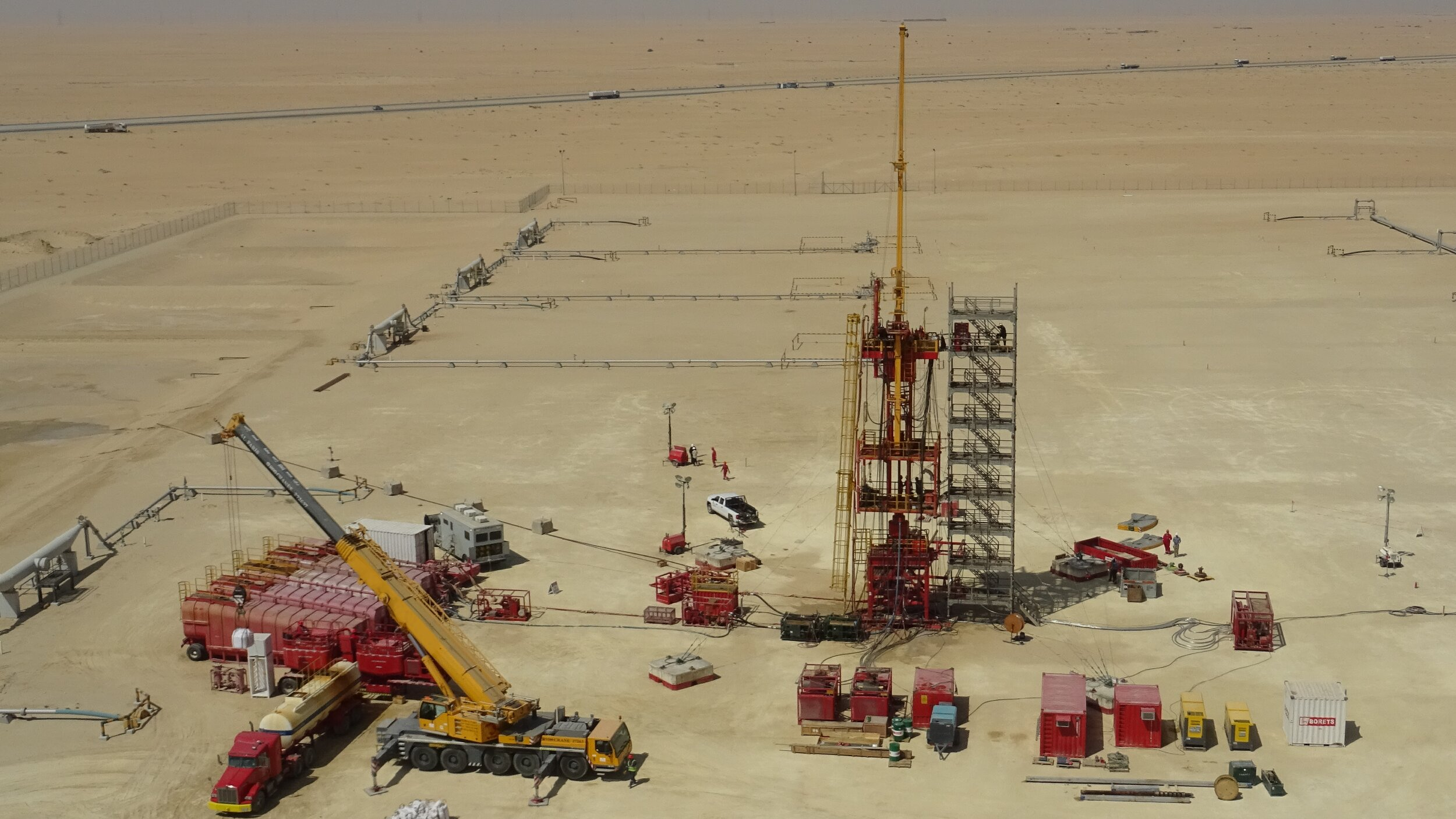 油气井维护的水力修井和压井