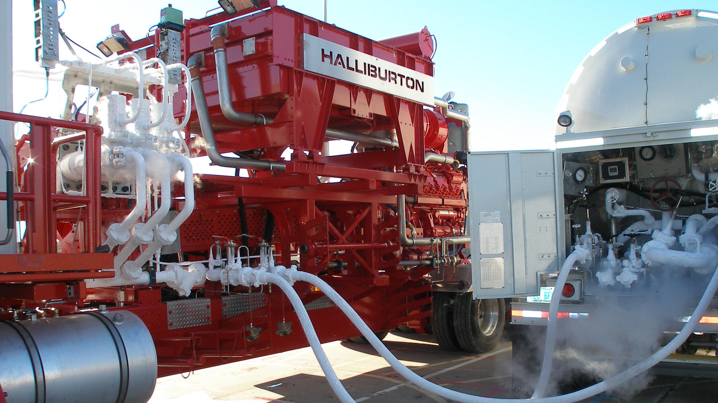 Pumping and nitrogen equipment