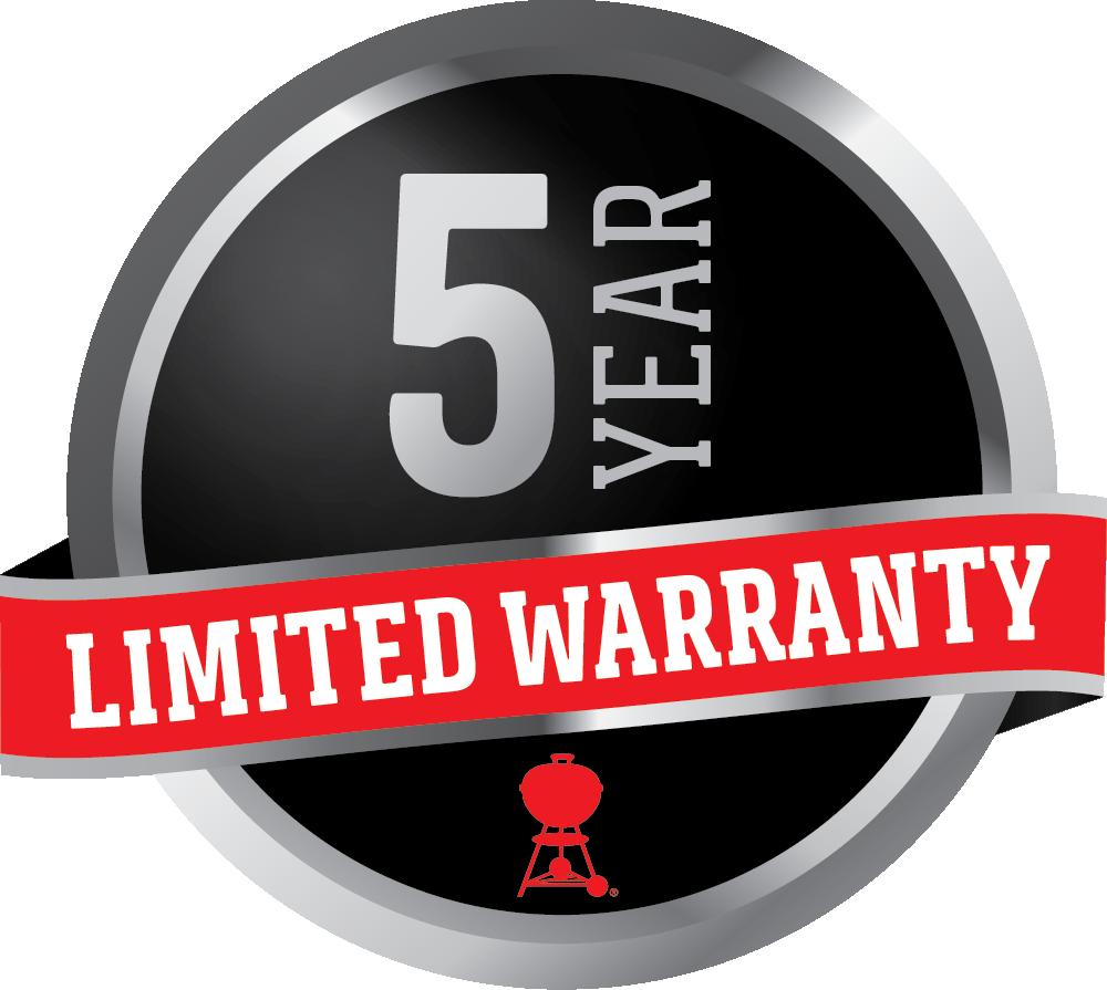 5 Year Limited Lifetime Warranty