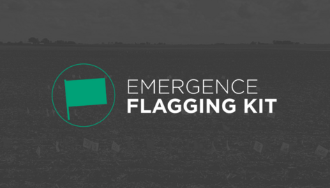 Free Emergence Flagging Kit from Precision Planting
