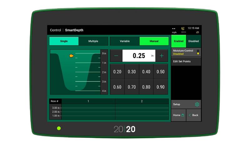 2020 SmartDepth product screen