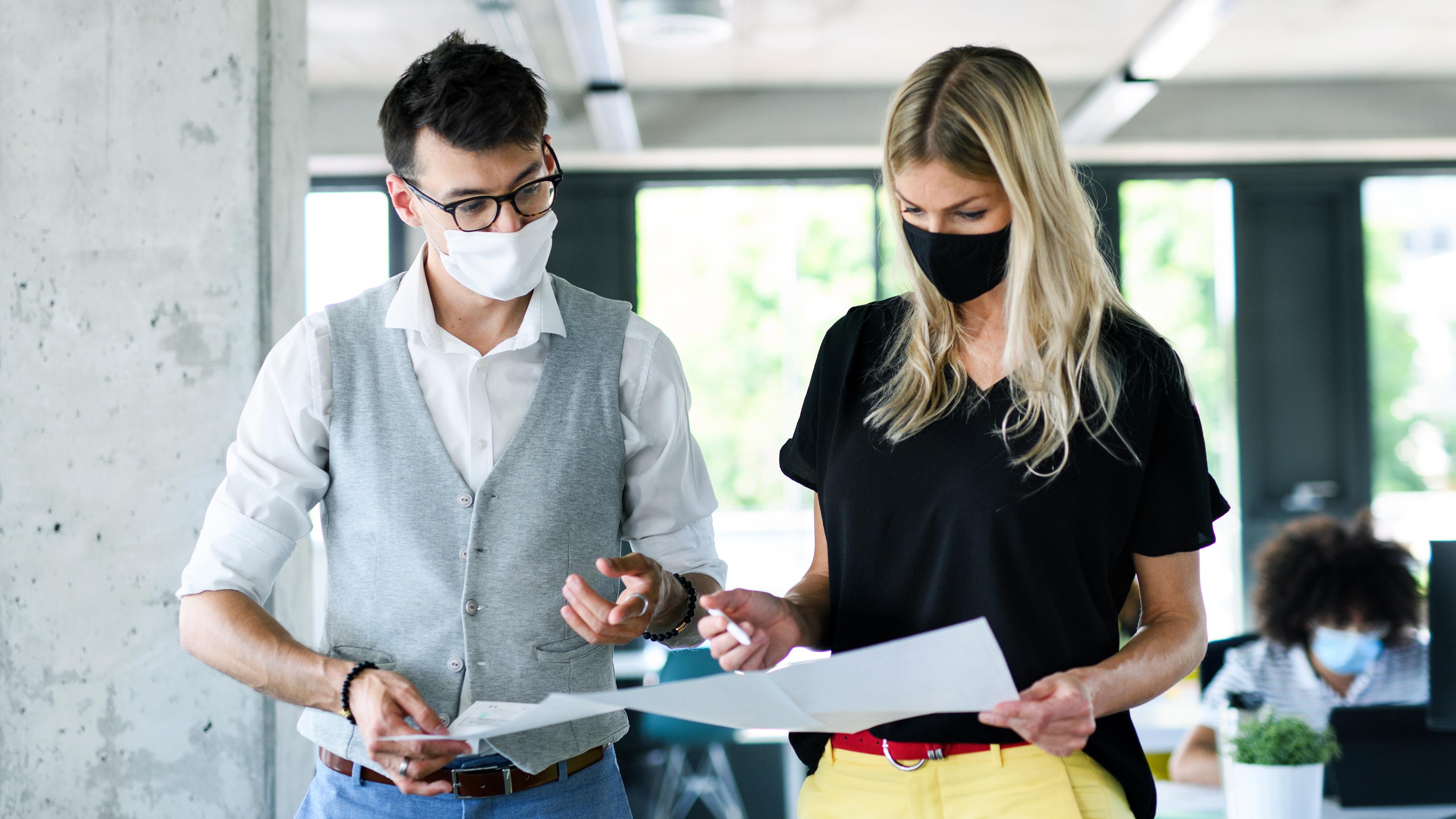 Hybrid Workplace Employee Collaboration