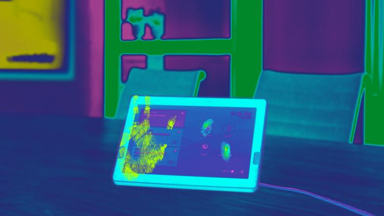 Touchless AV Tablet