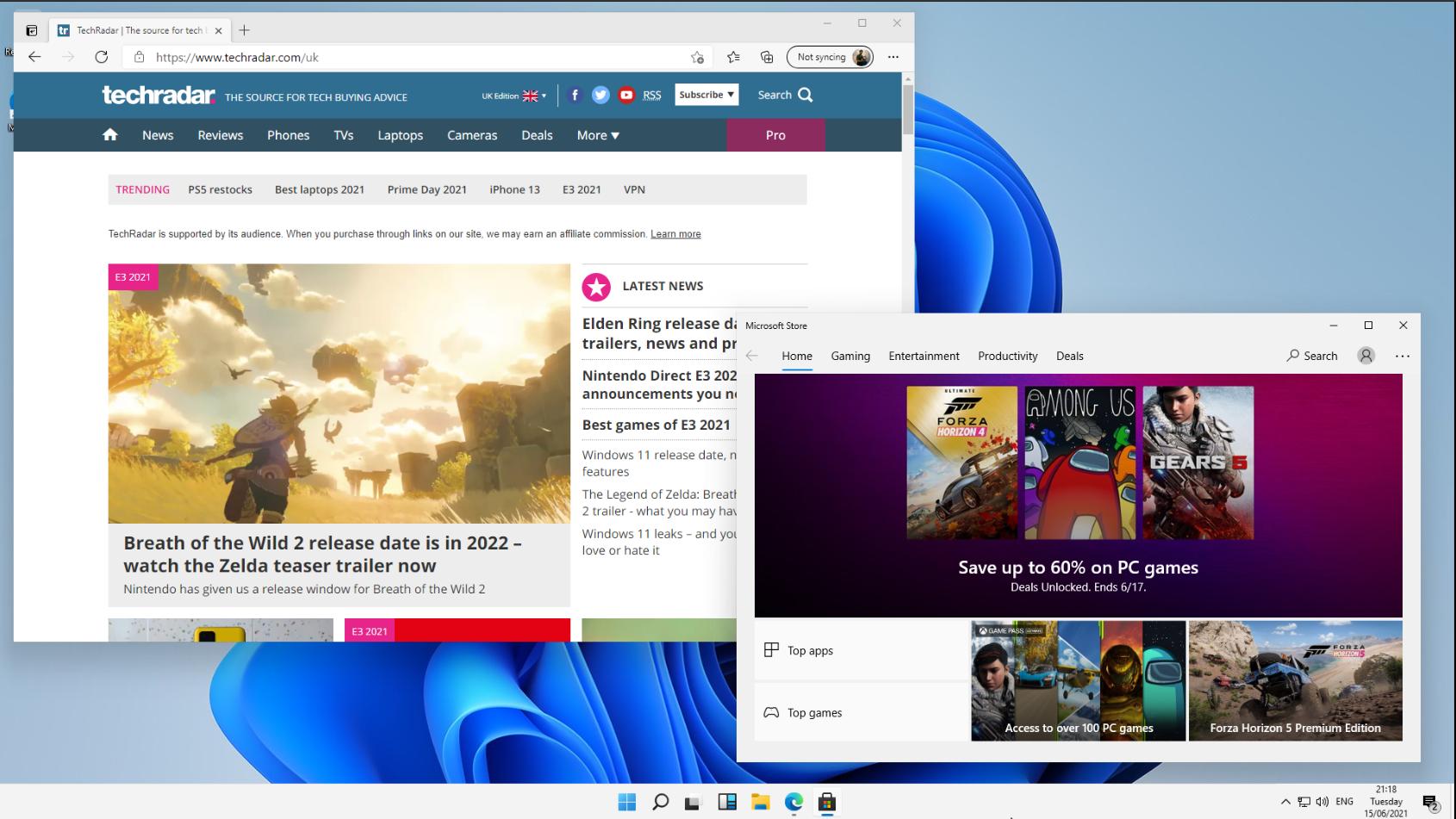 Microsoft Windows 11 screenshot