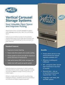 vertical carousels, Vertical Carousels, White Systems