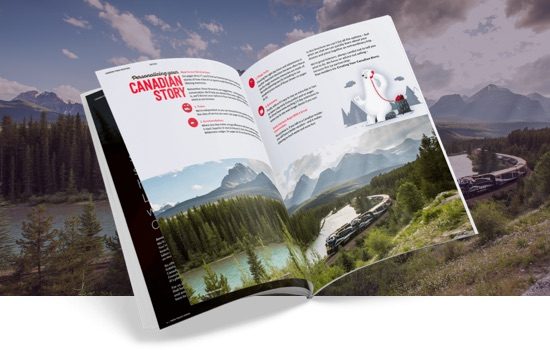 Discover Canada By Train Brochure