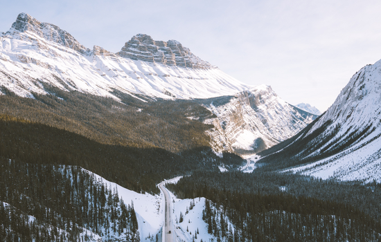 A highlight will be the Canadian Rockies and the mountains of British Columbia.