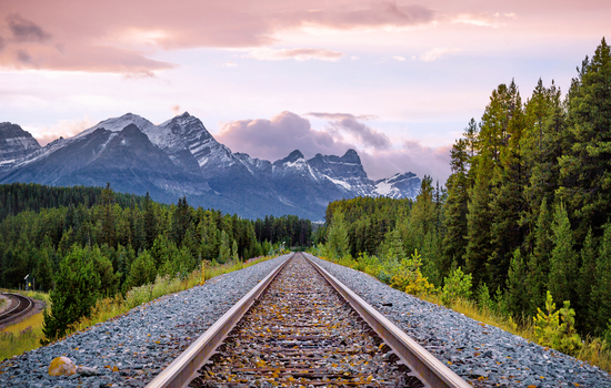 Travel from Jasper to Vancouver by train