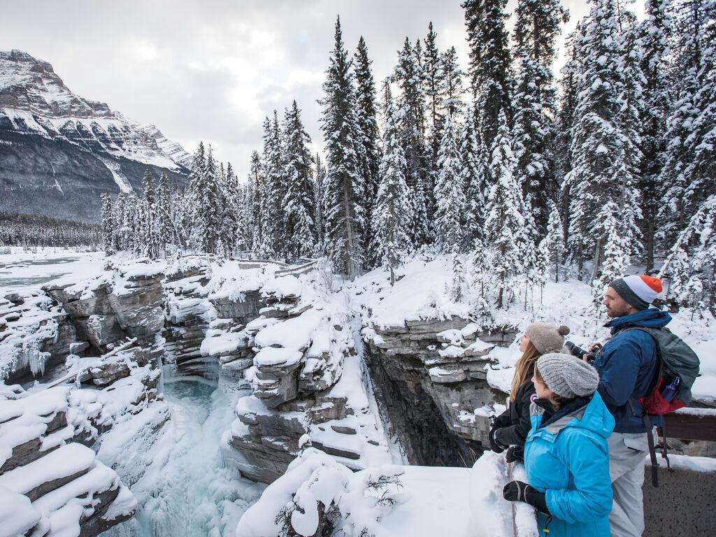 Winter in Jasper