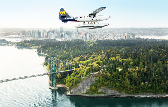 Your trip begins in the vibrant city of Vancouver, which is framed by awe-evoking mountains.