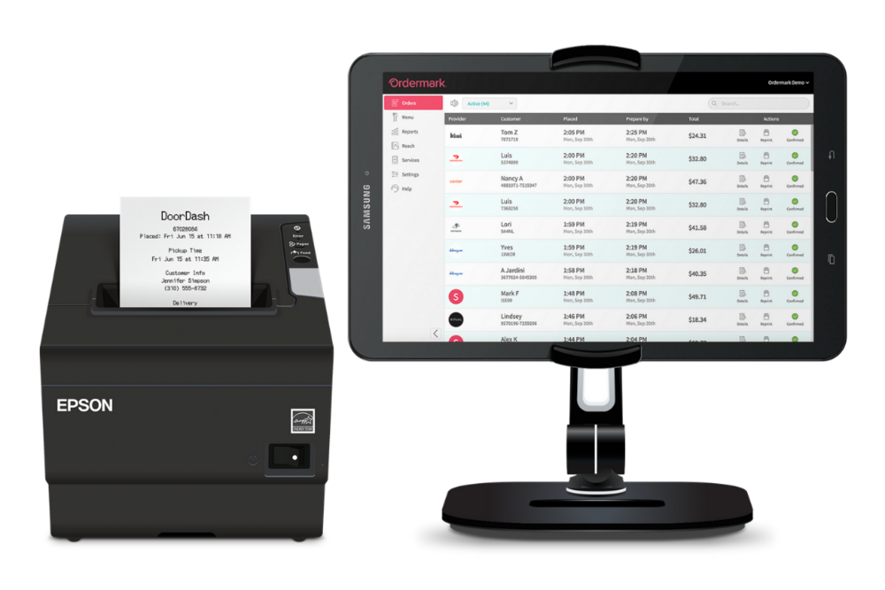 Ordermark interface