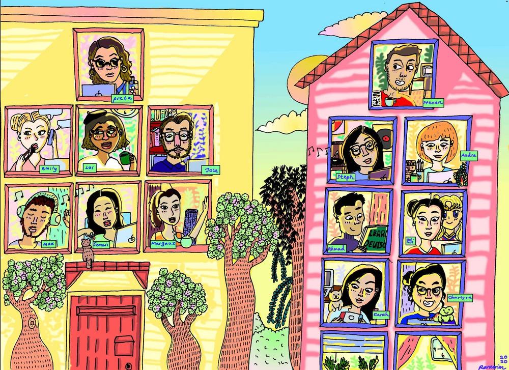 Community Offsite - Team Artwork