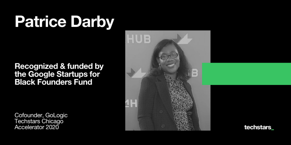 Patrice-Darby-GoLogic-Google-for-Startups-Black-Founders-Fund