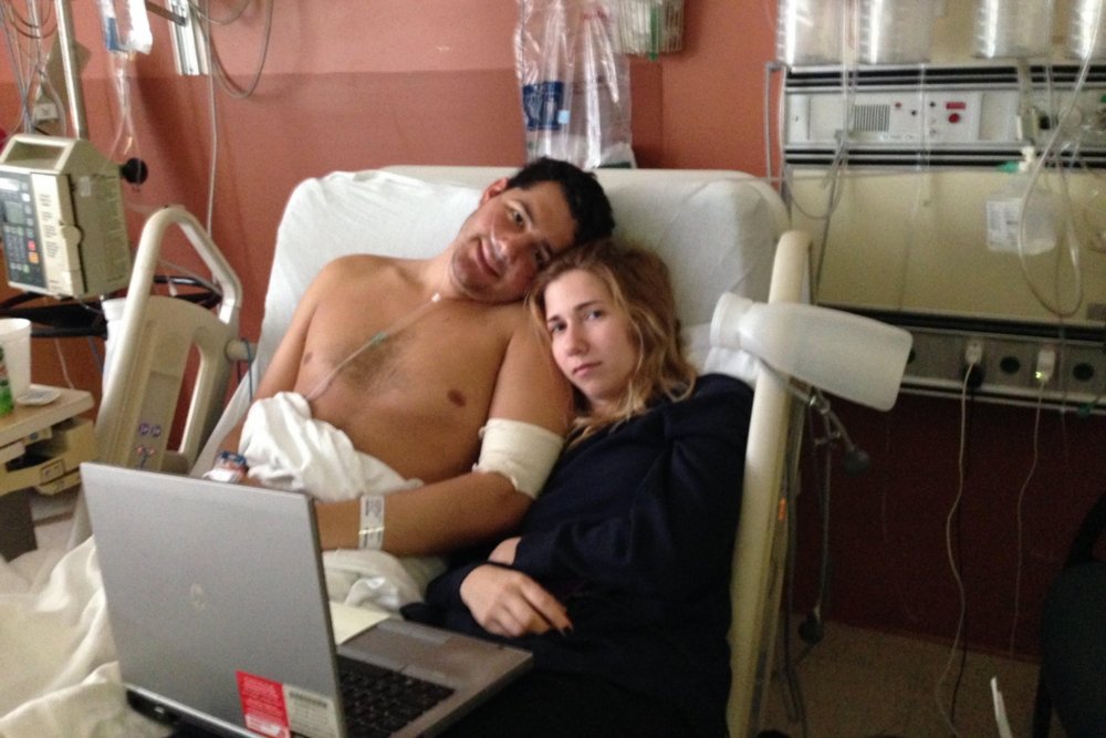 Matt Serel hospital