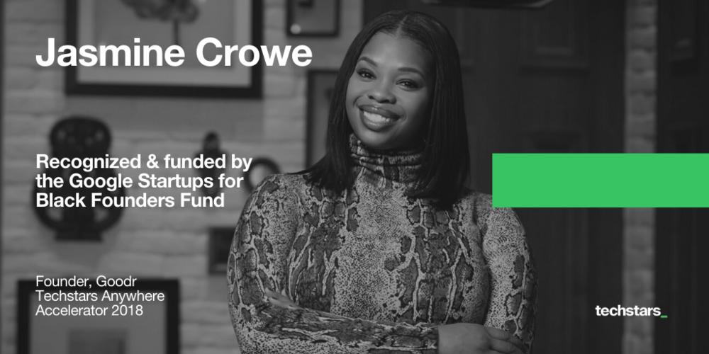 Jasmine-Crowe-Goodr-Google-for-Startups-Black-Founders-Fund
