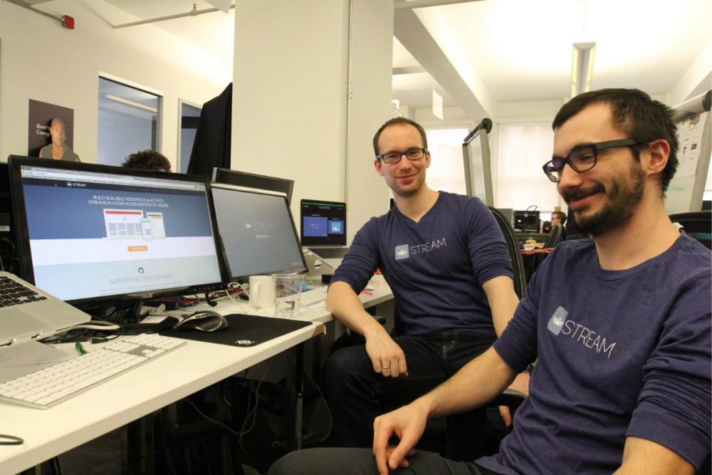 Stream founders Thierry Schellenbach and Tommaso Barbugli