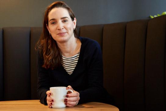 Maëlle Gavet, coffee, informal
