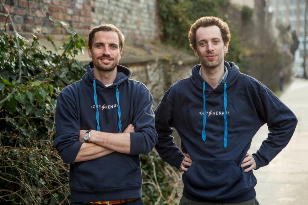 GetHenry founders Luis Orsini-Rosenberg and Nikodemus Seilern