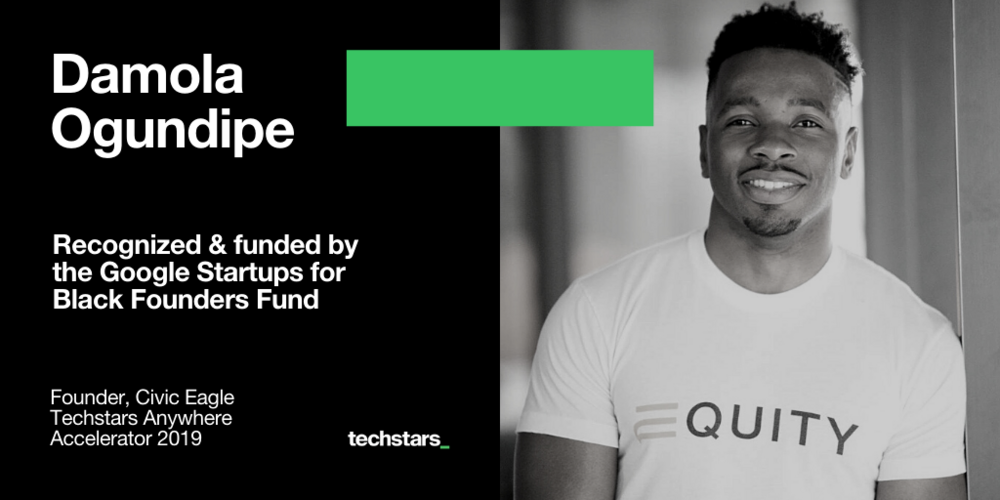 Damola-Ogundipe-Civic-Eagle-Google-for-Startups-Black-Founders-Fund