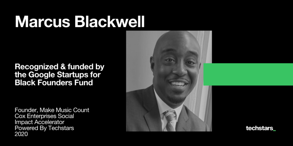 Marcus-Blackwell-Make-Music-Count-Google-for-Startups-Black-Founders-Fund
