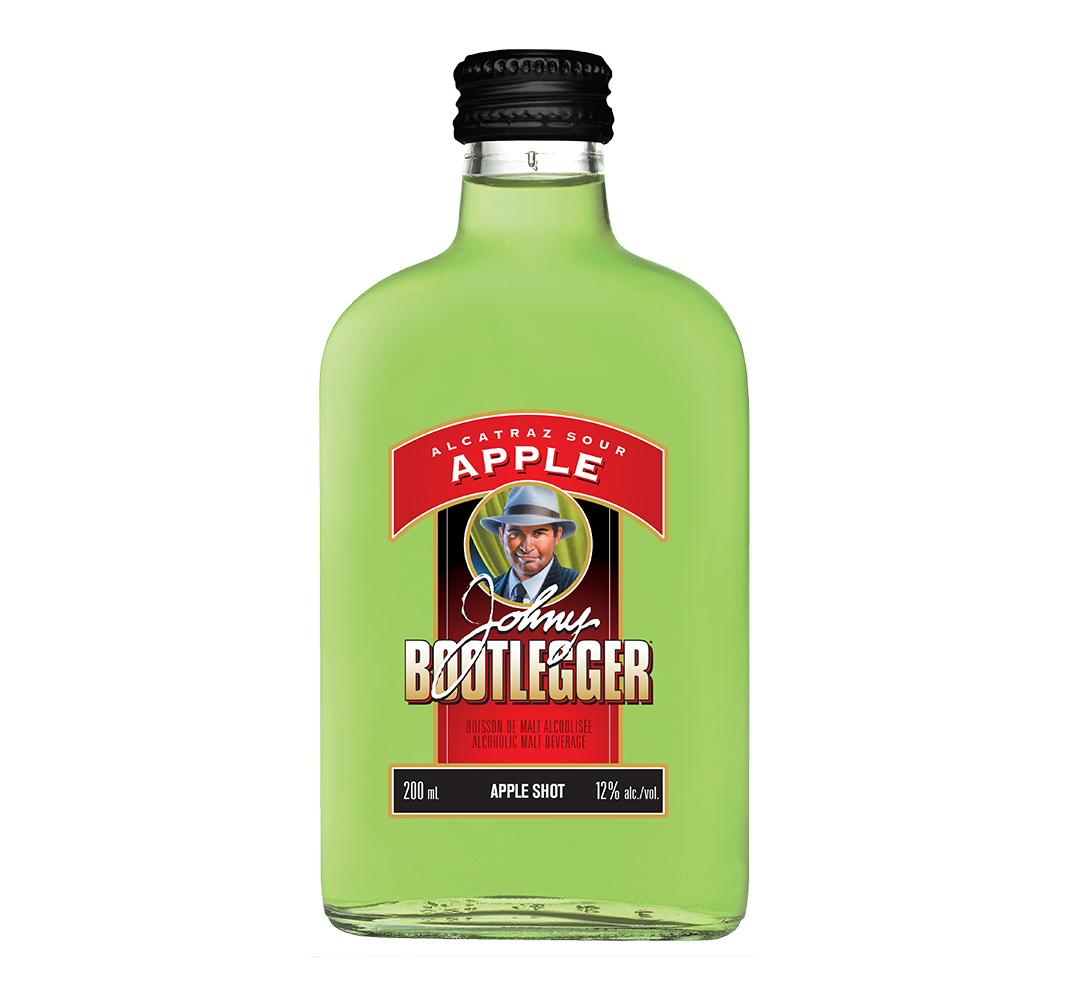 JOHNY BOOTLEGGER ALCATRAZ SOUR APPLE