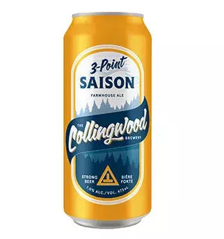 THE COLLINGWOOD BREWERY 3-POINT SAISON