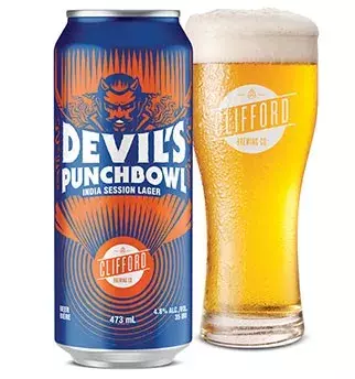 CLIFFORD BREWING DEVILS PUNCHBOWL INDIA SESSION LAGER