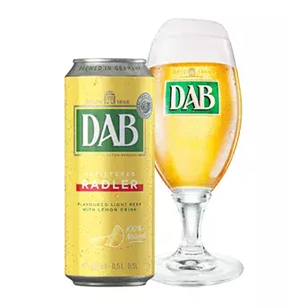 DAB LEMON RADLER UNFILTERED