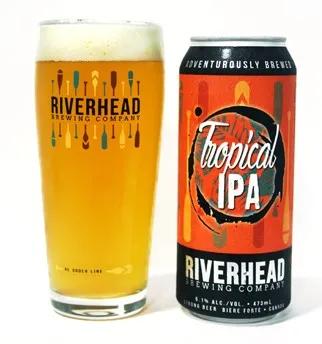 RIVERHEAD BREWING TROPICAL IPA