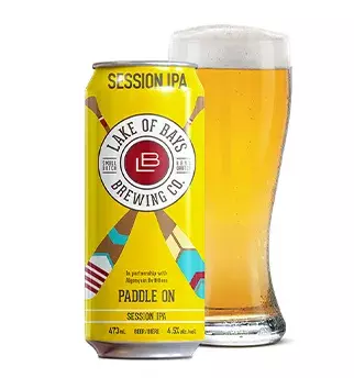 LAKE OF BAYS PADDLE ON SESSION ALE