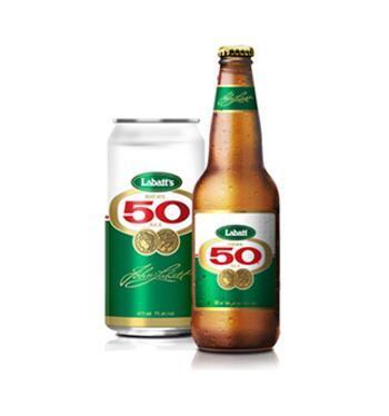 LABATT 50 ALE