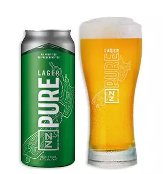 NZ PURE LAGER