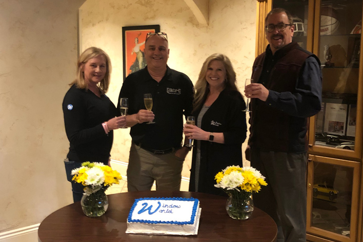 Longtime Window World franchise owners toast their newest store in Panama City