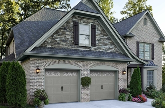 Window World Amarr Oak Summit Garage Doors