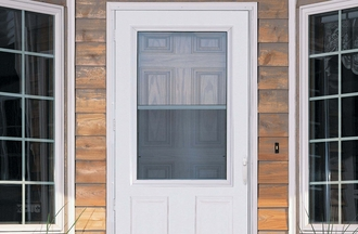 Window World Traditional Storm Door
