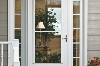 Window World Retractable Screen Storm Door