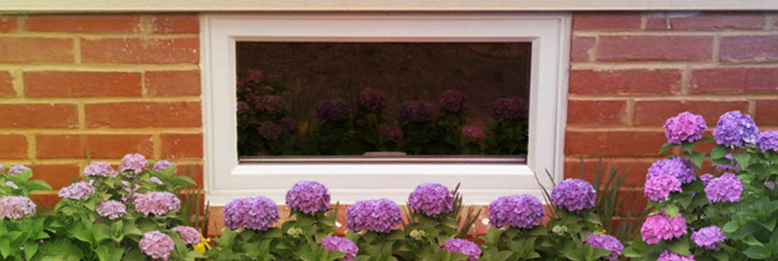 Window World Basement Hopper Window