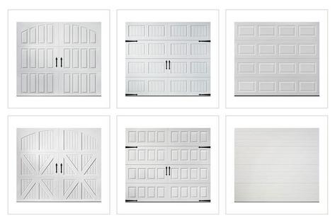 Garage Door Panel Styles