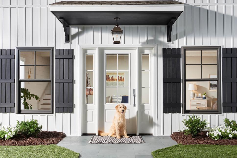 Farmhouse Door Dog Window World