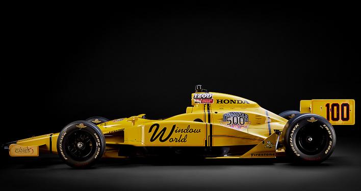 The Stinger race car