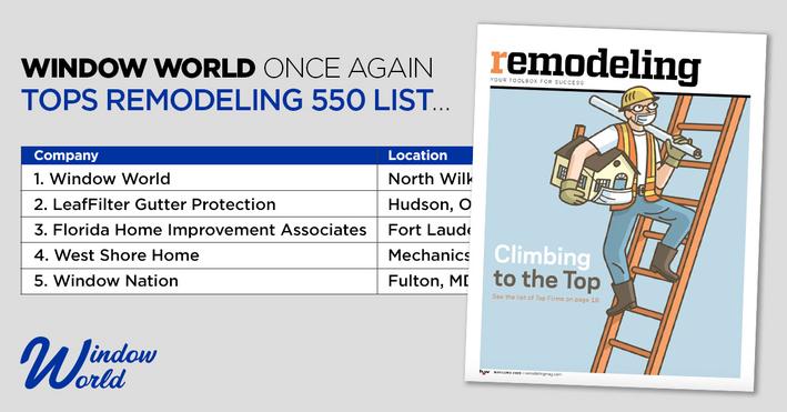 Remodeling 550 List