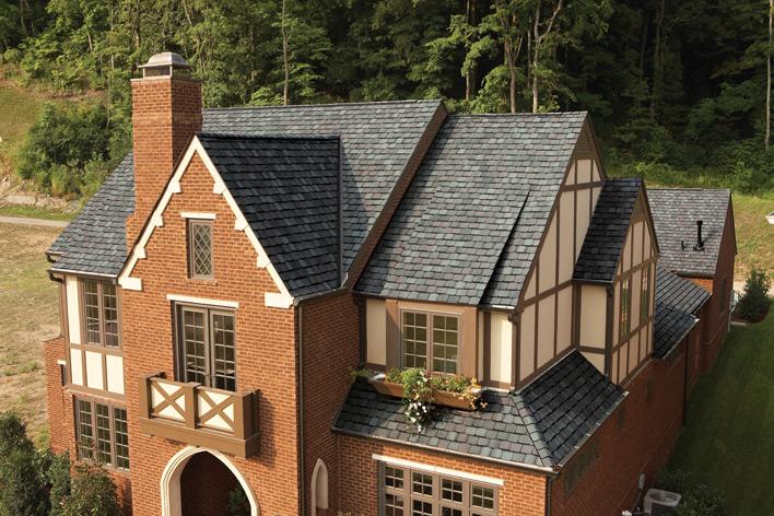 A new asphalt shingle roof