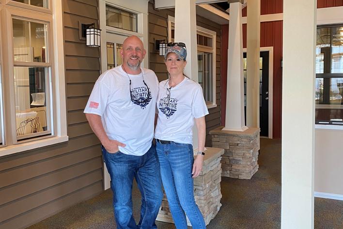 Window World of Southern Colorado owners Chris & Kiersten Lehmkuhl