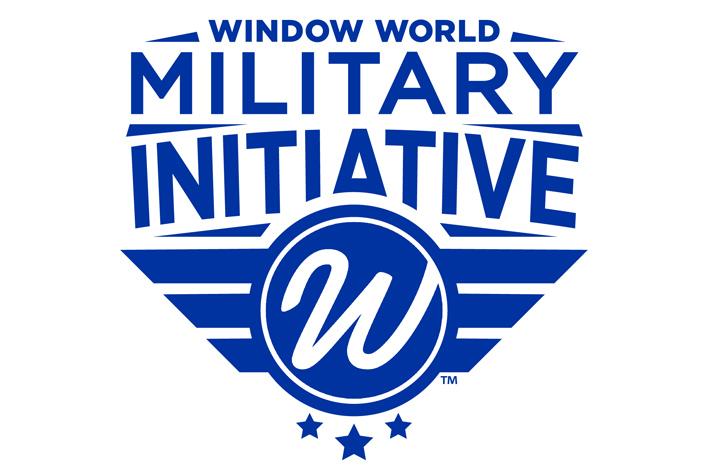 Window World Military Initiative logo