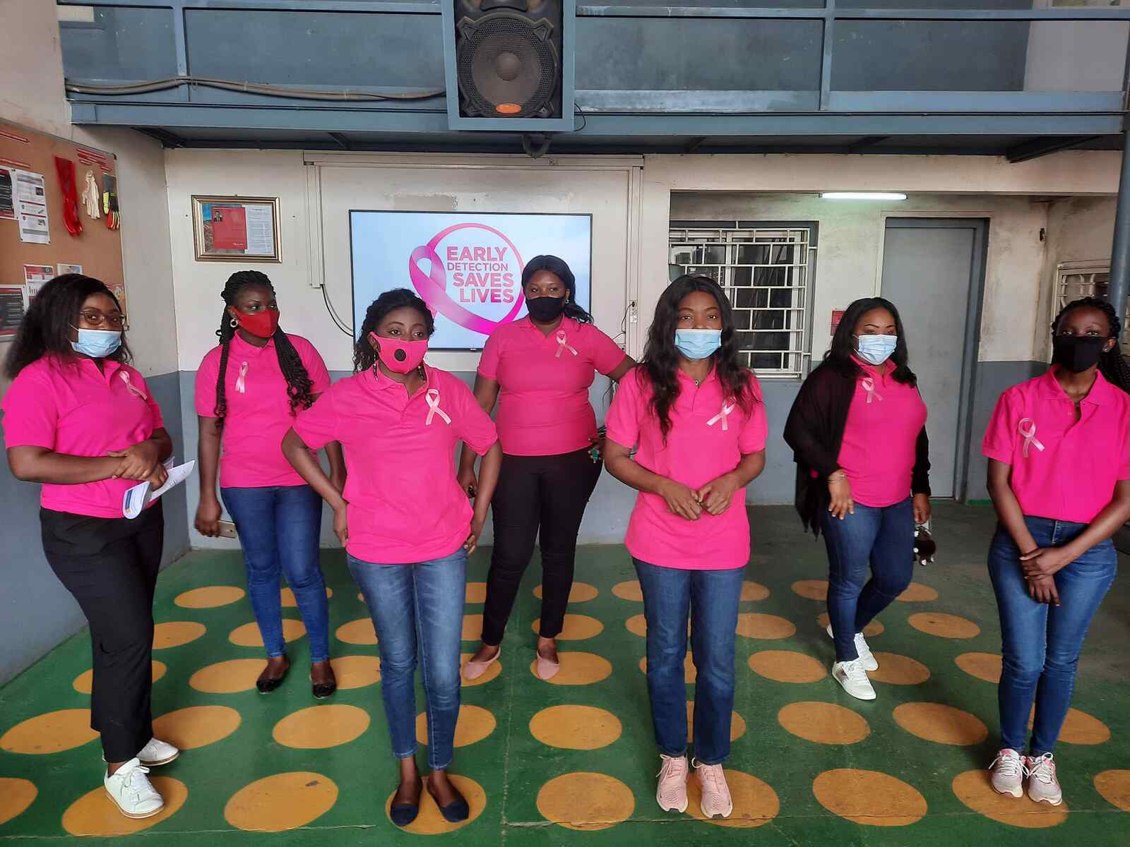 """""""Go Pink"""" Breast Cancer Awareness in Congo"""