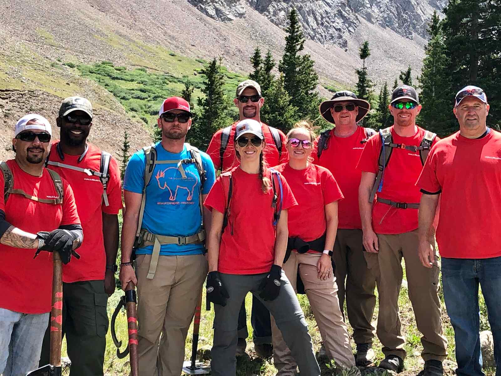 Colorado trail revitalization with National Forest Foundation