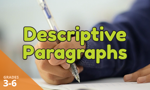 View the Lightbox Demo for Descriptive Paragraphs