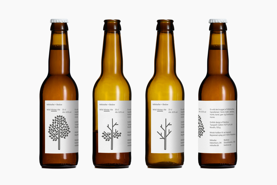 Mikkeller Beer bottle packaging